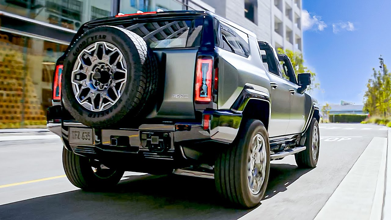 2024 GMC Hummer EV SUV | Features and Details | Hi-Tech Super SUV