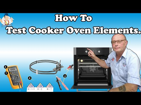 How to test oven elements out of cookers