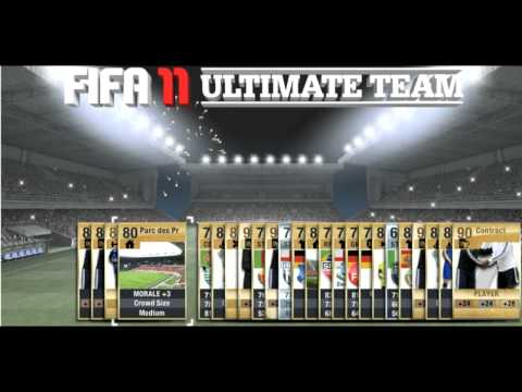 Episode #14 - Pack Opening and Ultimate Team Giveaway! - Some important information! - FIFA 11 UT