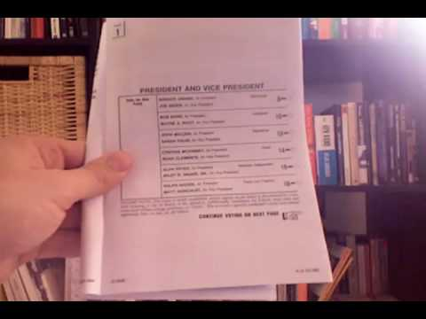 How to Vote for Barack Obama in Less than 2 Min. 30 Sec.