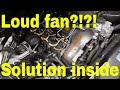 DIY - BMW radiator fan stuck on high? - electric water pump diagnosis