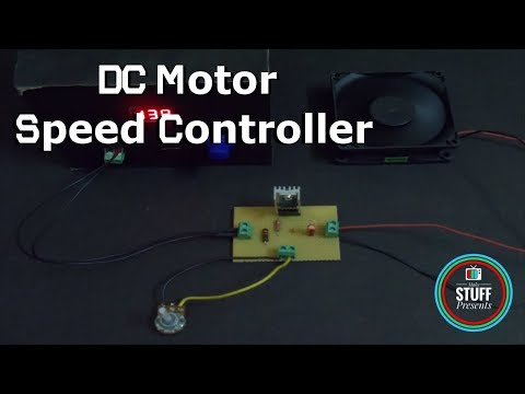 How to make a simple 12V DC Motor Speed Controller | DIY