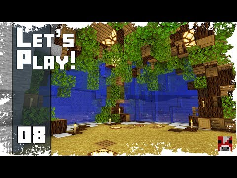 Minecraft Timelapse - SURVIVAL LET'S PLAY - Ep. 08 - A Window to the Ocean! (WORLD DOWNLOAD)