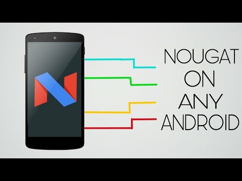 How to get nougat 7.0 on any android phone.(in hindi)