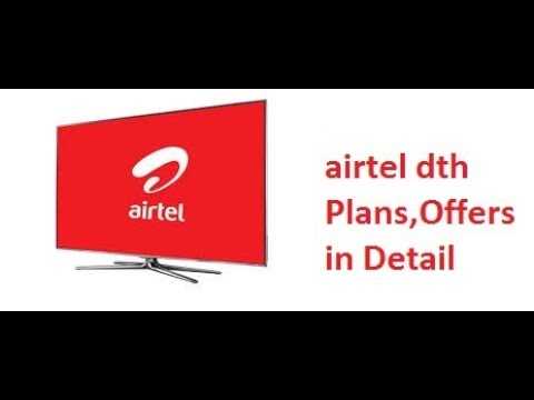 Airtel Digital TV Hd ,Plans, Recharges ,Packs