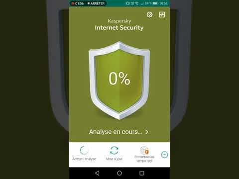 Installation de Kaspersky pour mobile version gratuit