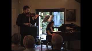 Bach Sonata For Violin And Clavier No4 In C Minor  David Makhmudov Violin Daria Gushcha Piano