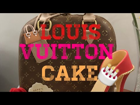 Louis Vuitton Cake Bag