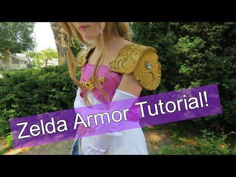 How To Make Zelda Armor: Making My Zelda Cosplay Pt 2/4