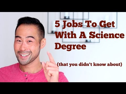 5 Jobs You Can Get With A Science Degree (that you didn't know existed)