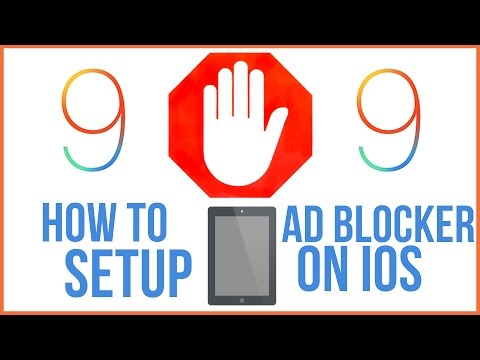 How To Setup Ad Blocker On iPhone and iPad - iOS9 Tutorial