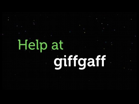 How to get Help | giffgaff
