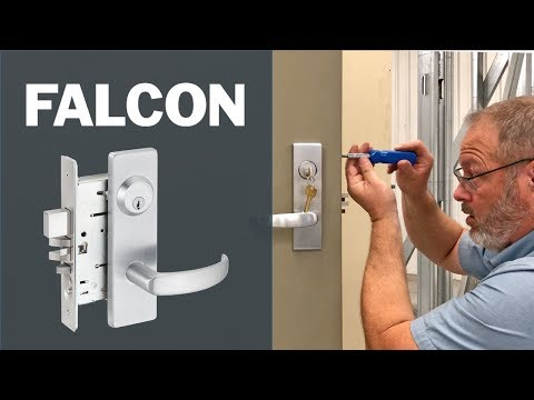How to Install the Falcon MA Mortise Lock