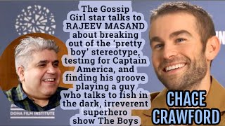 Chace Crawford interview with Rajeev Masand I The Boys I Gossip Girl