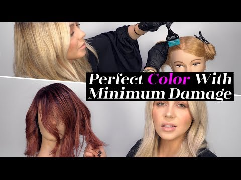 How To: Perfect Hair Color with Minimum Damage