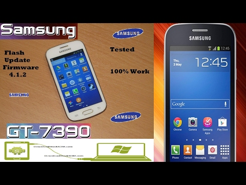 Samsung Galaxy Trend Lite S7390  How to update software