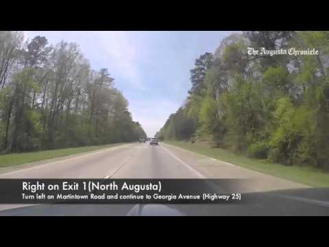 Guide to Masters parking: Interstate 20 from Columbia, S.C.