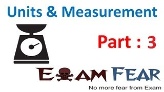 Physics Unit and Measurement Part 2 (Length Measurement and
