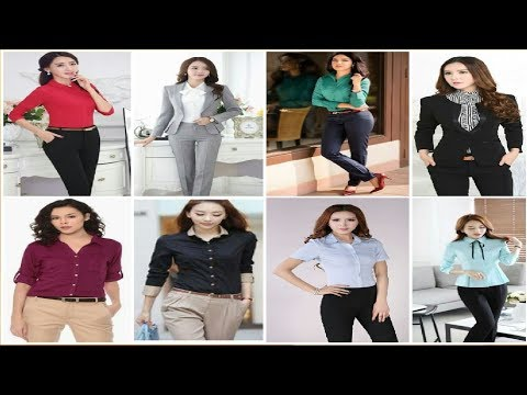 Womens Office Wear Formal Pant and Shirt Latest Style