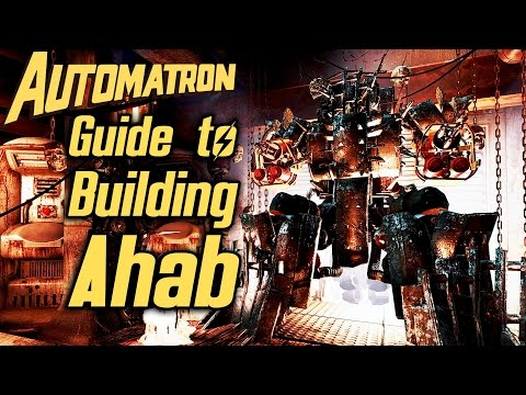 Fallout 4 Automatron DLC - Guide to Building Ahab Sentry Bot