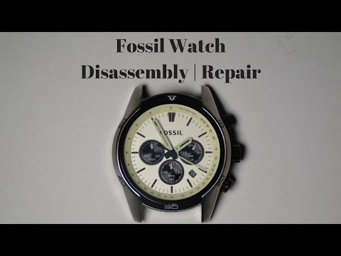 Fossil Watch Disassembly | Repair