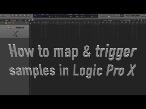 Mapping & Triggering Samples in Logic Pro X (EXS24 Sampler)
