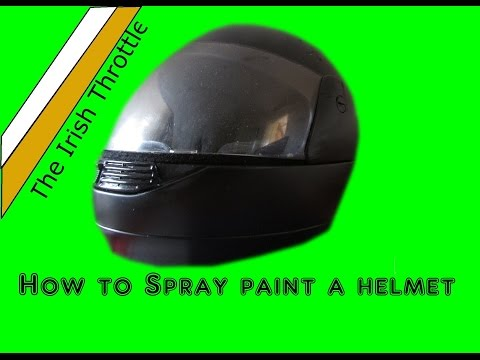 How to Paint A Motorbike Helmet for CHEAP i promise!!!