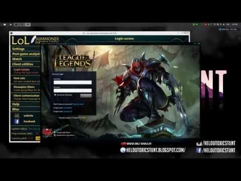 Customize Your Login Screen In League Of Legends