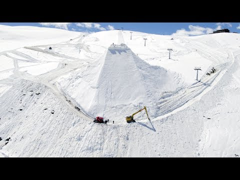 How to build the biggest freeski jump ever | GoPro edit