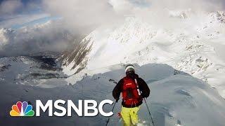 How To Escape An Avalanche | Split Second Decision | MSNBC