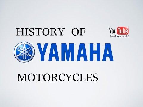 History of Yamaha Motorcycles