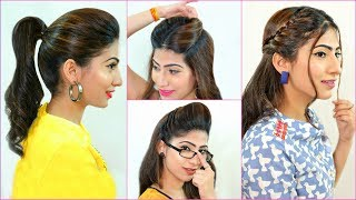 5 Everyday HAIRSTYLES Every Teenager/Office/College Girls MUST Try | #Summers #HairHacks #Anaysa