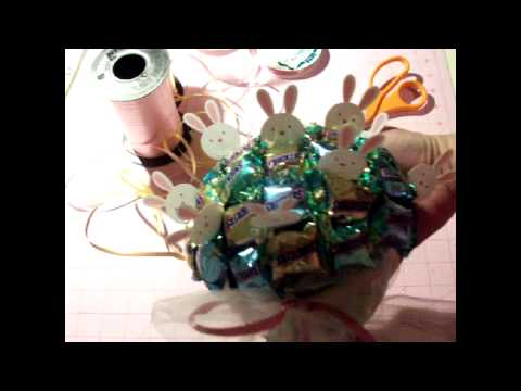 Not just Scrapbooking--Candy Bouquet for Easter