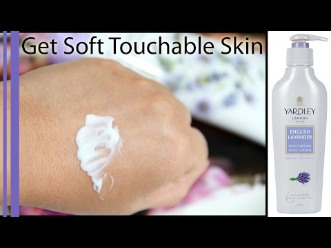 Yardley London Body Lotion True Review / Get Smooth Soft Touchable Skin