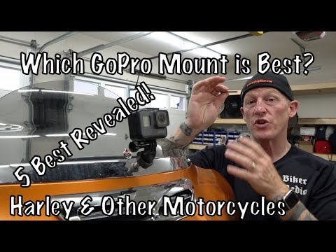 Best 5 GoPro Action Camera Mounts for Harley-Davidson & Other Motorcycles