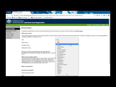 How to apply Tax File Number Online in Australia in Punjabi