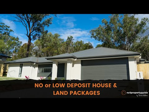 No, Zero or Low Deposit home and land packages, Qld