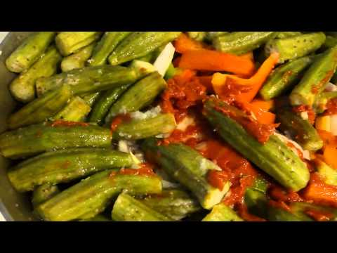 How to make Okra with oxtail and crab |Sauce CalalouThe Haitian Way