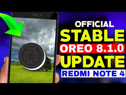 Officially Android 8.1.0 Oreo STABLE Update For Redmi Note 4 RR Developer Team