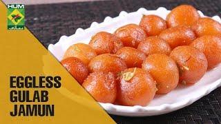 Squishy Eggless Gulab Jamun   Evening With Shireen Masala TV Show   Shireen Anwar