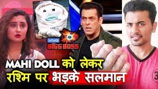 Bigg Boss 13   Salman Khan LASHES OUT At Rashmi Over MAHI DOLL   Weekend Ka Vaar   BB 13