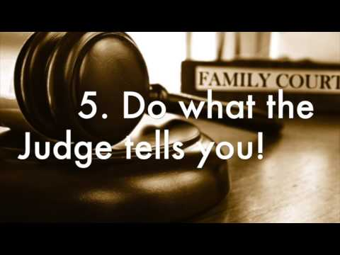 How Men Can Win in Family Court