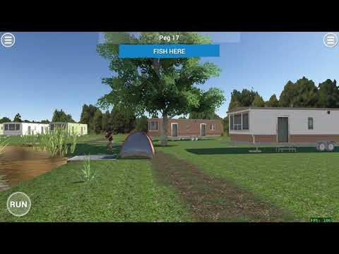 Carp Fishing Simulator - Menu system preview