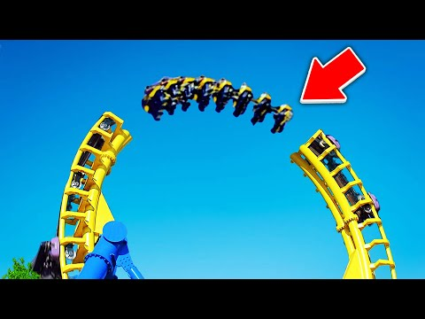 Top 10 DEADLIEST Roller Coasters YOU WONT BELIEVE EXIST!