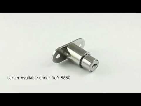 Fast Keys 360 Product Spotlight - Lowe and Fletcher 5862 Sliding Door Push Lock.