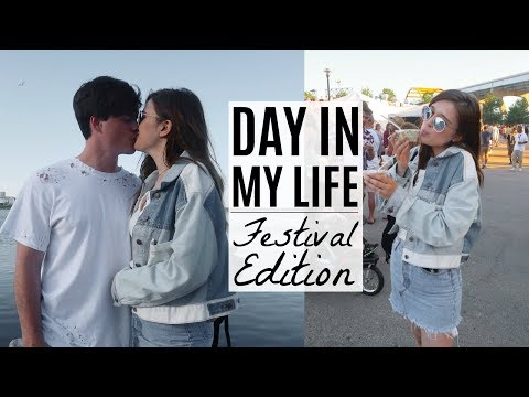 DAY IN MY LIFE: Music Festival Edition!