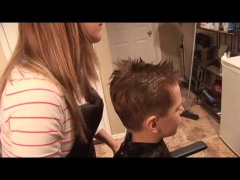 HOW TO CUT BOY'S HAIR // basic boys haircut // hair tutorial