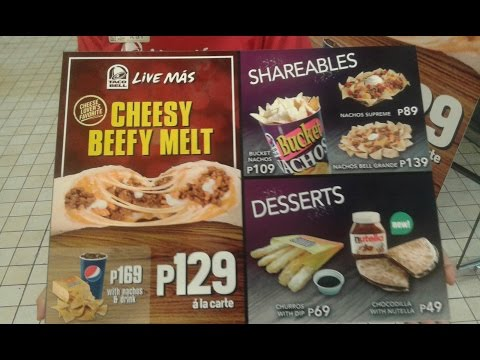 Taco Bell in the Philippines.