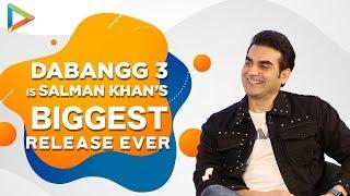 """Salman Khan has always worked VERY HARD, You don't…"": Arbaaz Khan| Dabangg 3"