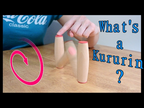 Making Kururin: Rolling sticks! (traditional and weighted fidget toy)